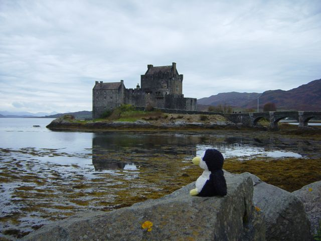 The Scots know where to build their castles!