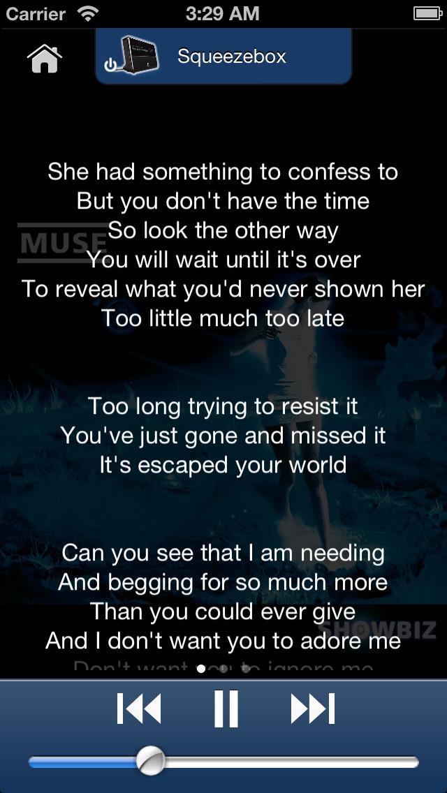 Lyrics View