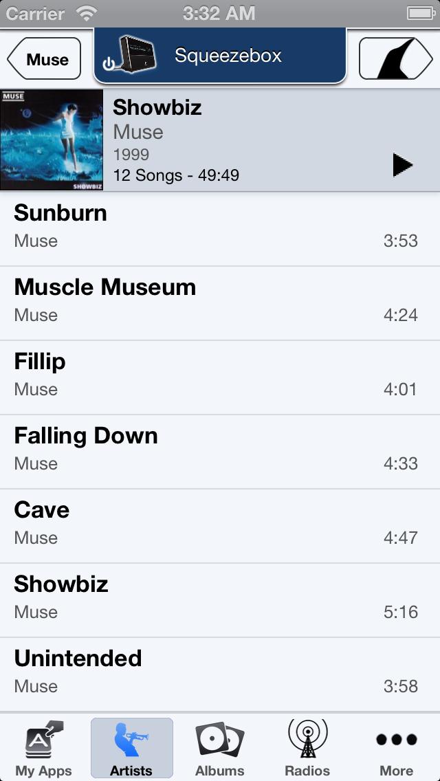 List of Tracks