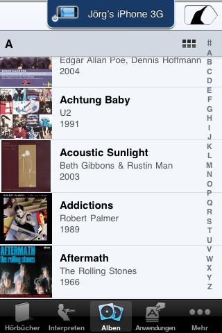 Albums on iOS 4