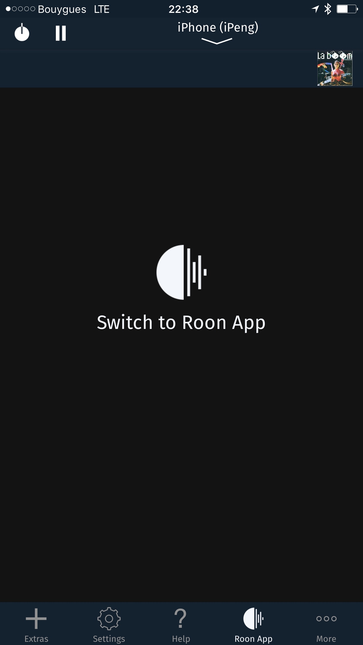 Switch to Roon App