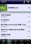 Albums Tracks in iPeng 1.1