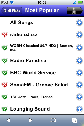 Internet Radio - Staff Picks
