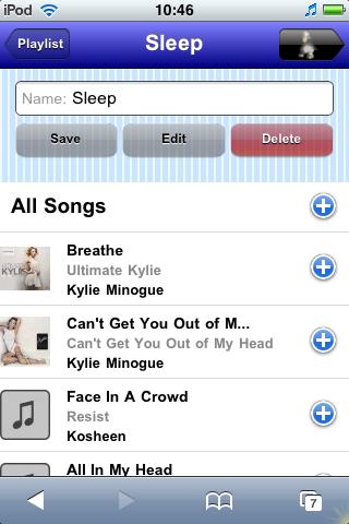 Playlist - Details View