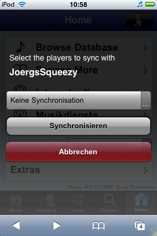 Synchronize Screen