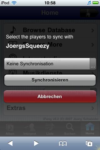 Synchronize Screen