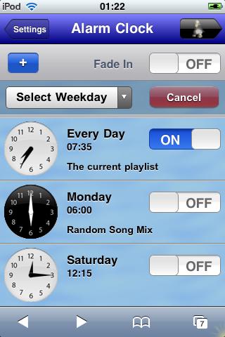 Alarm - Add day