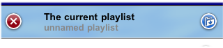 The Playlist Control